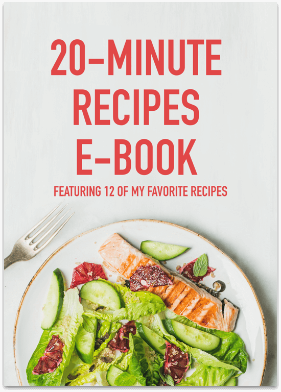 20-Minute Recipes E-Book